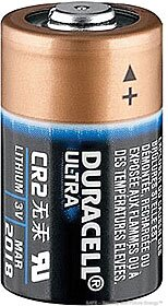 CR2 (Duracell®, USA)
