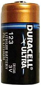 CR123A (Duracell®, USA)