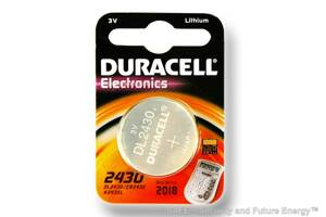 CR2430 (Duracell®, USA)
